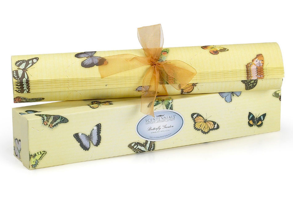 Butterfly Garden Scented Drawer Liner