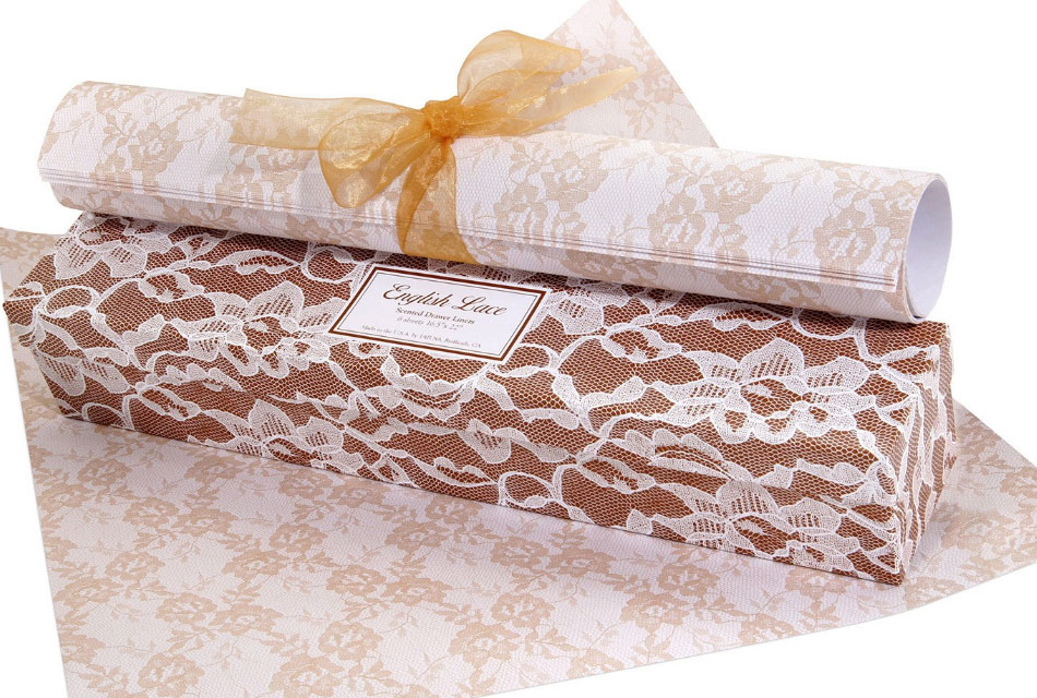 English Lace Scented Drawer Liner