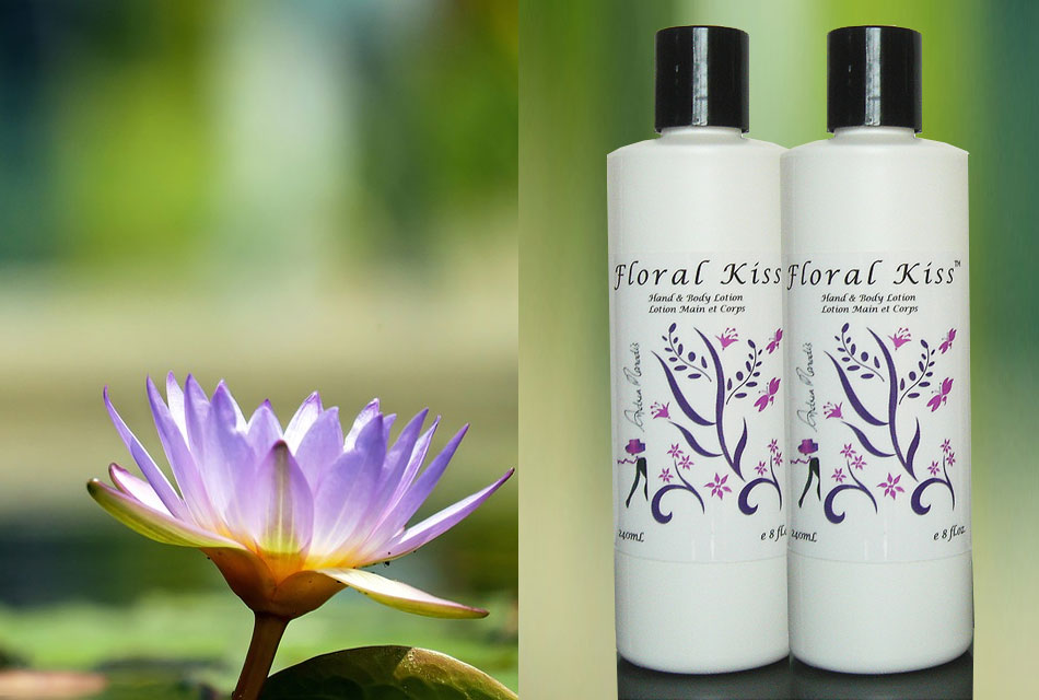 Floral Kiss Natural Hand and Body Lotion