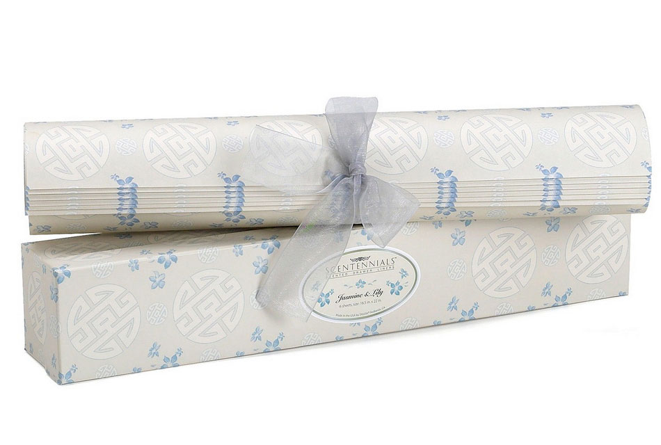 Jasmine Lily Scented Drawer Liner